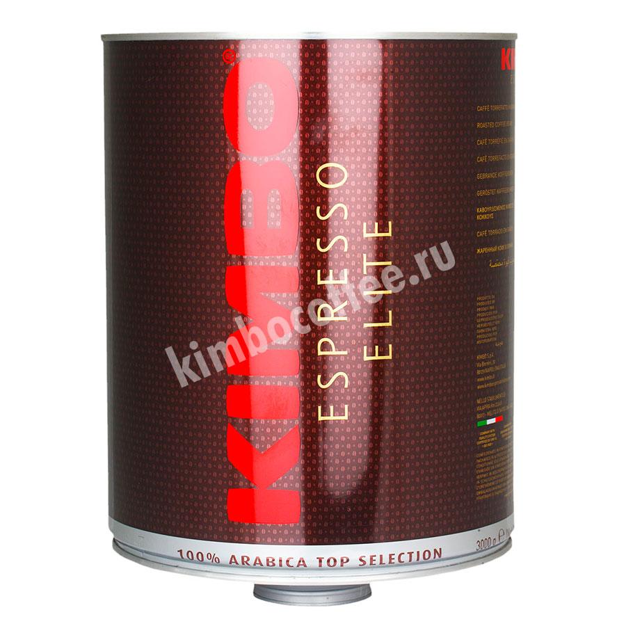 Кофе Kimbo в зернах Elite Arabica Top Selection 3 кг