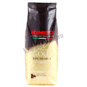Кофе Kimbo в зернах Aroma Gold Arabica 500 гр
